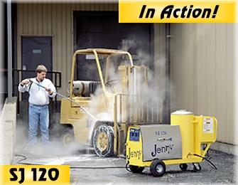 Wet Steam Car Wash 200 Psi High Speed Mobile Carwash
