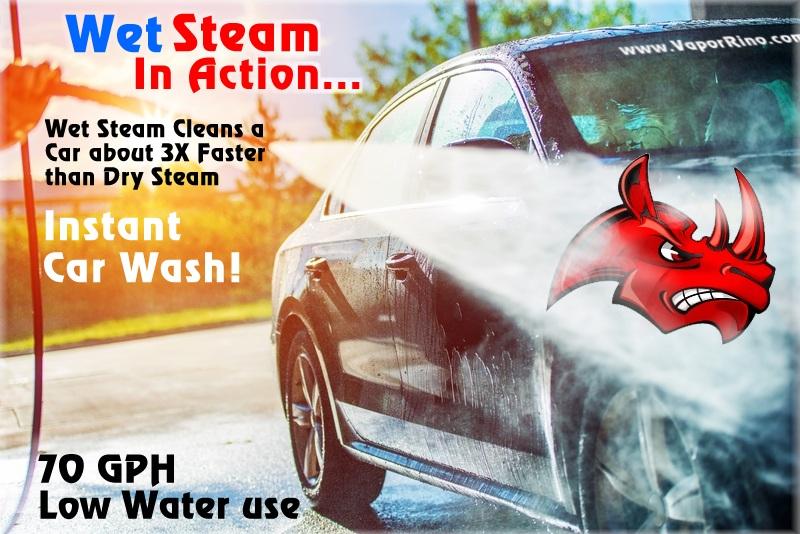 Steam Car Wash Vs Water Car Wash